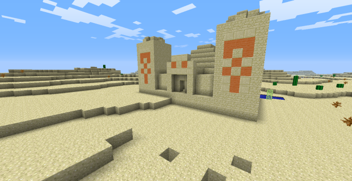 Find Desert Temples in TU14